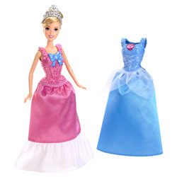 Princesses Disney Cendrillon et sa Robe à paillettes
