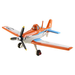 Avion métal PLANES Racing Dusty