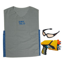 Nerf Dart Tag Pack 1 joueur Gris/Bleu