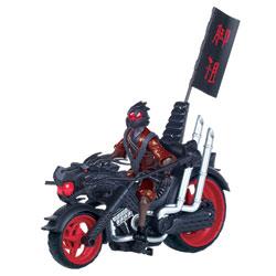 Moto Foot Soldier avec figurine 12 cm