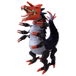 Ben 10 - Figurine Hyper Alien Omniverse Tyrannopede
