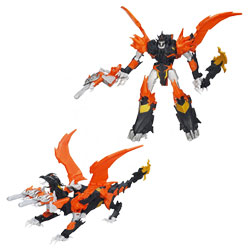 Transformers Prime Voyager Beast Hunter Predaking