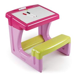 Bureau Le Petit Écolier rose et vert