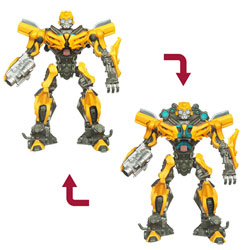 Transformers Dark Of The Moon Robot Fighters Bumblebee