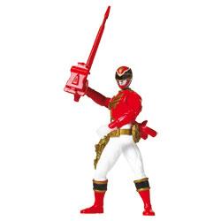 Power Rangers Figurine de combats 16 cm Ranger Rouge