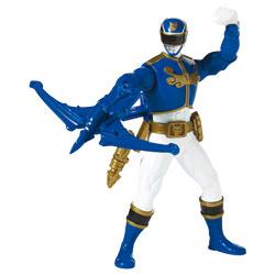 Power Rangers Figurine de combats 16 cm Ranger Bleu