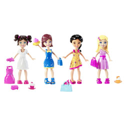 Coffret Polly Pocket et ses amies Cupcake Party 2