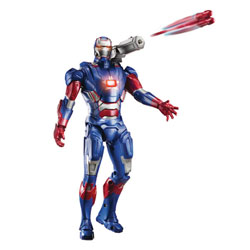 IronMan 3 Figurine Electronique 25cm Iron Patriot