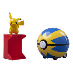 Pokémon Coffret Catch'n Train Pokeball Pikachu