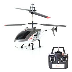 Hélicoptère Gris 40cm R/C 3 voies