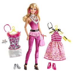 Barbie Fashionistas robes et accessoires Rose
