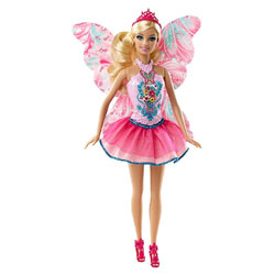 Barbie Fée Scintillante Rose
