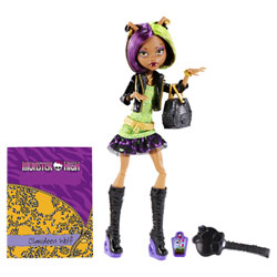 Monster High Photo de Classe Clawdeen Wolf Cheveux Courts