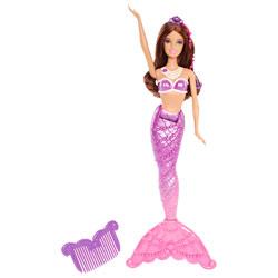 Barbie Sirène coiffeuse Violette