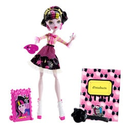 Monster High Poupée Art Class Draculaura