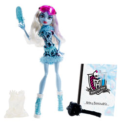 Monster High Poupée Art Class Abbey Bominable