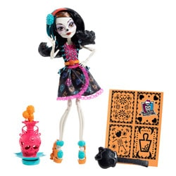 Monster High Poupée Art Class Skelita Calaveras