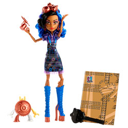 Monster High Poupée Art Class Robecca Steam