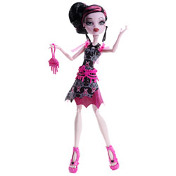 Monster High Hauntlywood Tapis noir Draculaura