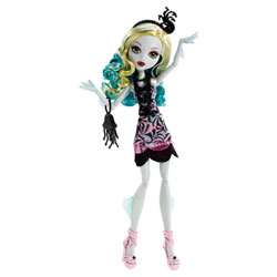 Monster High Hauntlywood Tapis noir Lagoona Blue