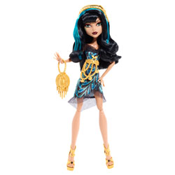 Monster High Hauntlywood Tapis noir Cleo De Nile