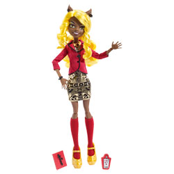 Monster High Hauntlywood Clawdia Wolf