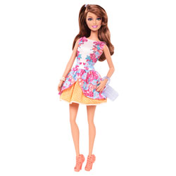 Barbie Amies Mode Glamour Teresa Robe à fleurs