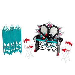 Monster High Hauntlywood Tapis noir le Dressing