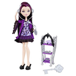 Ever After High Poupée et accessoires Raven Queen