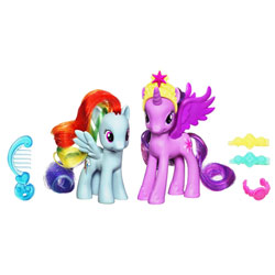 Mon Petit Poney Princesse Twilight Sparkle & Rainbow Dash