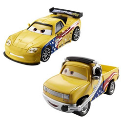 Cars 2 Jeff Gorvette et John Lassetire