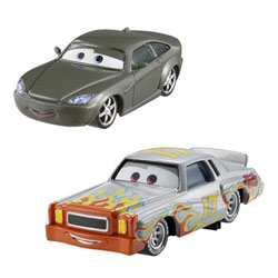 Cars 2 Darrell Cartrip et Bob Cutlass