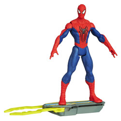 Spiderman Figurine Spider Strike Blitz Board