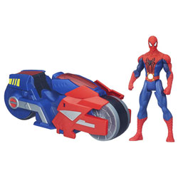 Spiderman Véhicule Spider Strike Blaze Wing Cycle