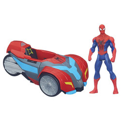 Spiderman Véhicule Spider Strike Turbo Capture Racer