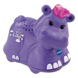 Tut Tut animaux de la jungle Lilo l'hippo rigolo
