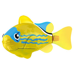 Robo Fish lumineux Yellow Lantern