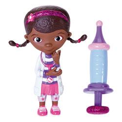 Docteur la peluche-Mini figurine Dottie et une Seringue