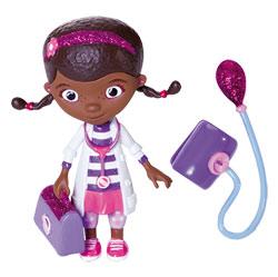 Docteur la peluche-Mini figurine Dottie et un Tensiomètre
