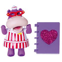Docteur la peluche-Mini figurine Hallie et un Grand livre bobos