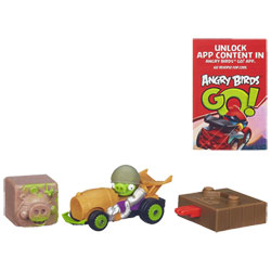 Angry Birds Go Rowdy Racers Corporal Pig's Roadster