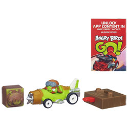 Angry Birds Go Rowdy Racers Foreman Pig's Plane
