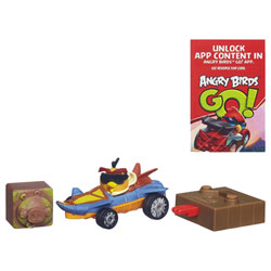 Angry Birds Go Rowdy Racers Bubble's Jet Buggy
