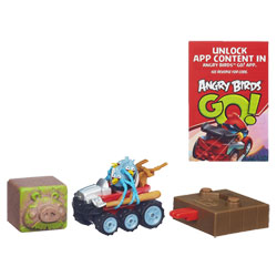 Angry Birds Go Rowdy Racers The Blues Off Roadster