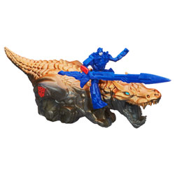 Transformers 4 Dino Retro friction Optimus Prime et Grimlock
