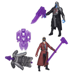 Les Gardiens de la Galaxie Epic Battlers Star Lord et Ronan
