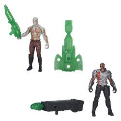 Les Gardiens de la Galaxie Epic Battlers Korath et Drax
