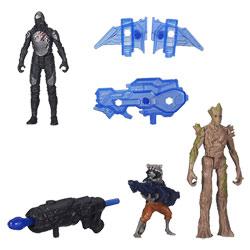 Les Gardiens de la Galaxie Epic Battlers Groot et Rocket Raccoon avec Sakaaran Trooper