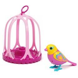 Digibird Juliet dans sa cage