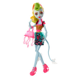 Monster High Poupées Transe-Fusion Lagoonafire